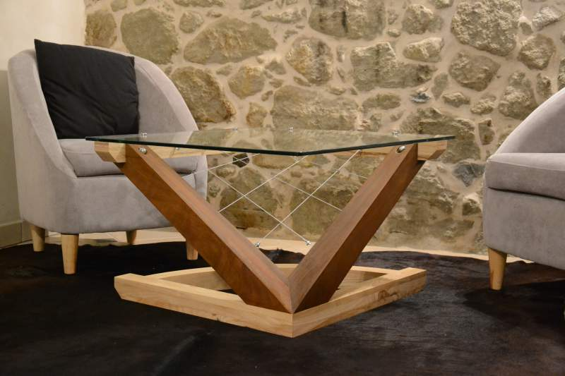 R alisations am nagements ext rieurs et int rieurs haute - Creation table basse ...